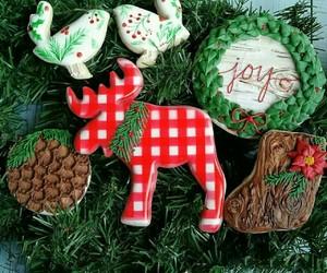 christmas, christmas cookies, and december image