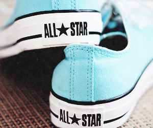 all star, blue, and fashion image