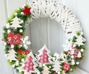 christmas, white, and frozen image