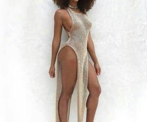 black women, fashion, and melanin image
