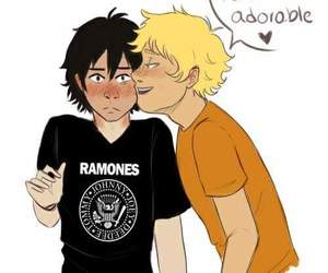 percy jackson, nico di angelo, and solangelo image