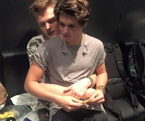the vamps, tristan evans, and tristan image
