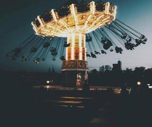 night, light, and fun image