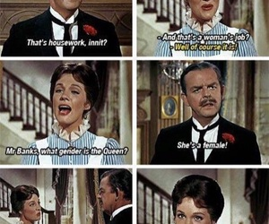 Mary Poppins, feminism, and feminist image