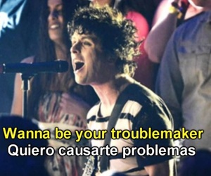 billie joe armstrong, problemas, and green day image