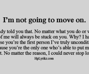 hurt, quotes, and cant move on image