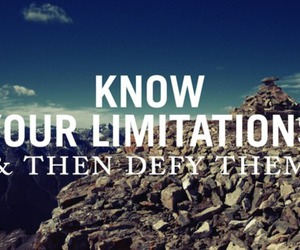 quote, limitations, and defy image