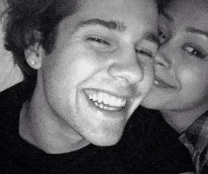 liza koshy and david dobrik image