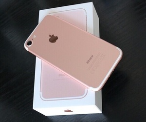 iphone, iphone 7, and pink image