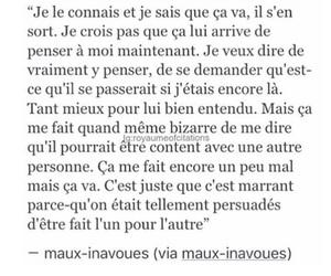 couple, french, and sad image