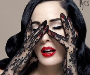 Dita von Teese, fashion, and Pin Up image