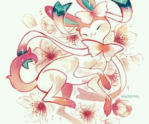 pokemon, art, and sylveon image