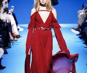 dress, fall winter, and novel fashion image