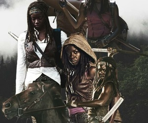 serie, wallpaper, and zombies image