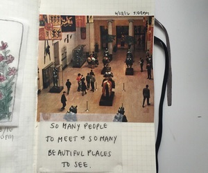 quotes, journal, and people image