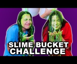 challenge, slime, and merrell twins image