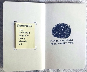 stars, quotes, and book image