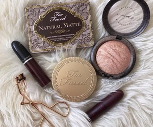 beauty, mac, and too faced image