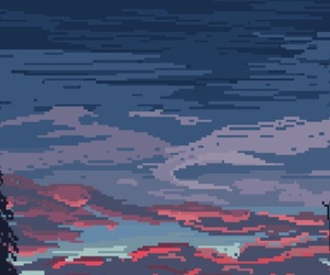 wallpaper, background, and pixel image