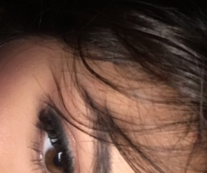 aesthetic, brown eyes, and eye makeup image