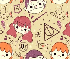 harry potter, wallpaper, and hermione image