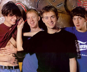 90's, alex james, and bass image