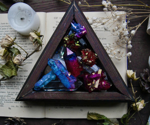 aesthetic, crystal, and witch image