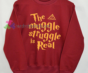 harrypotter, long sleeve, and shirts image