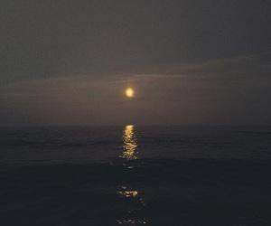 aesthetic, moon, and dark image