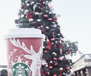 christmas, coffee, and holiday image