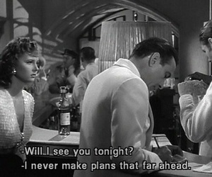 quotes, black and white, and movie image