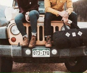 travel, adventure, and jeep image