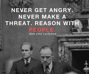 quote, movies, and The Godfather image