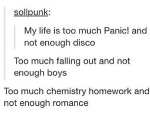 fall out boy, funny, and music image