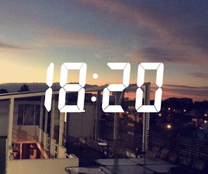 hour, sunset, and tumblr image
