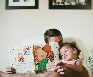 love, dad, and family image