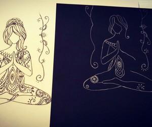 mandalas and zentangle art image