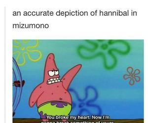 hannibal, mizumono, and hannibal crack image