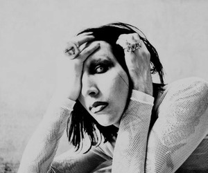 Marilyn Manson and brian warner image