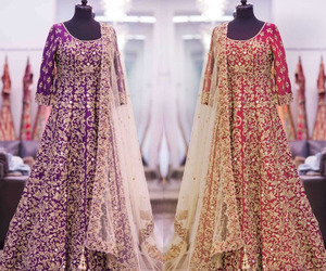 indian, dresses, and wedding image