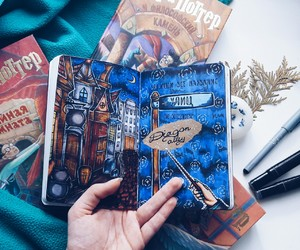 diy, harry potter, and wreck this journal image