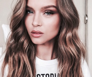 josephine skriver, beauty, and model image