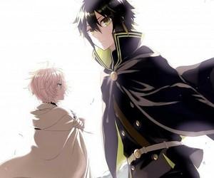 yaoi, seraph of the end, and mikayuu image