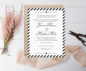 etsy, invitation template, and printable invitation image