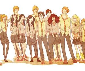 harry potter, dumbledore's army, and hermione granger image