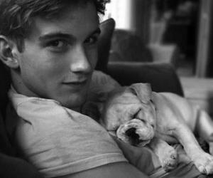 boy, cute, and dog image