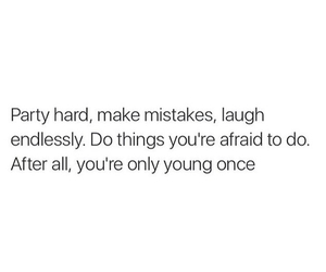 quote, party, and young image