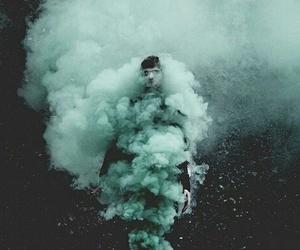 grunge, smoke, and boy image