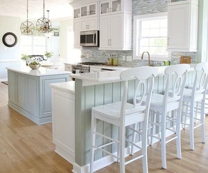 dream home, house, and kitchen image
