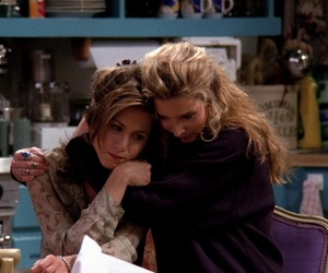 friends, phoebe, and rachel green image